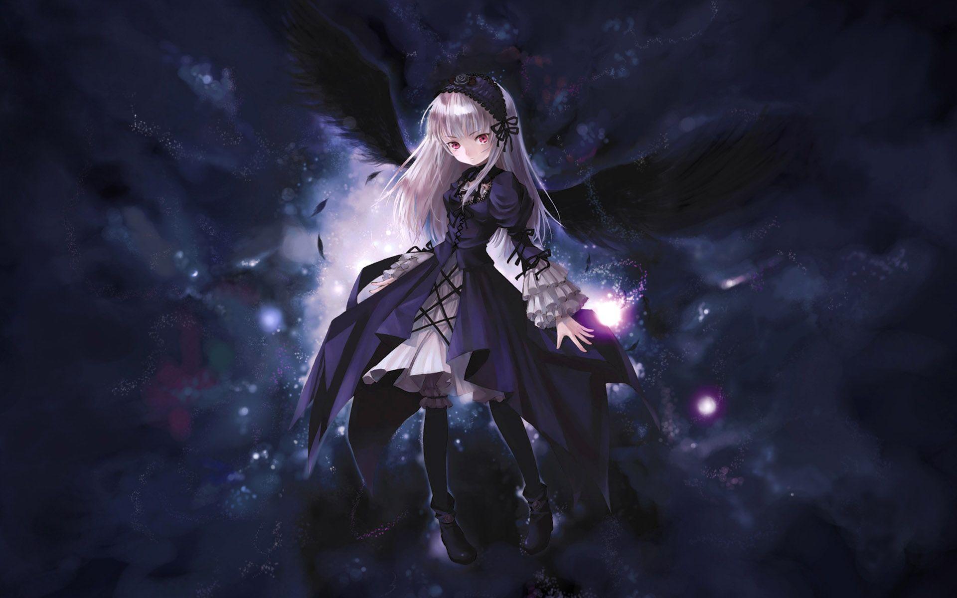 Anime Dark Angel Wallpaper Hd