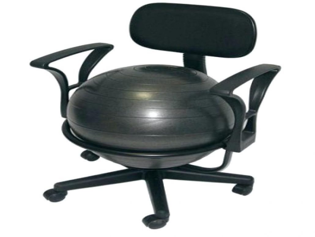 Exercise ball office chair pros cons home office desk furniture