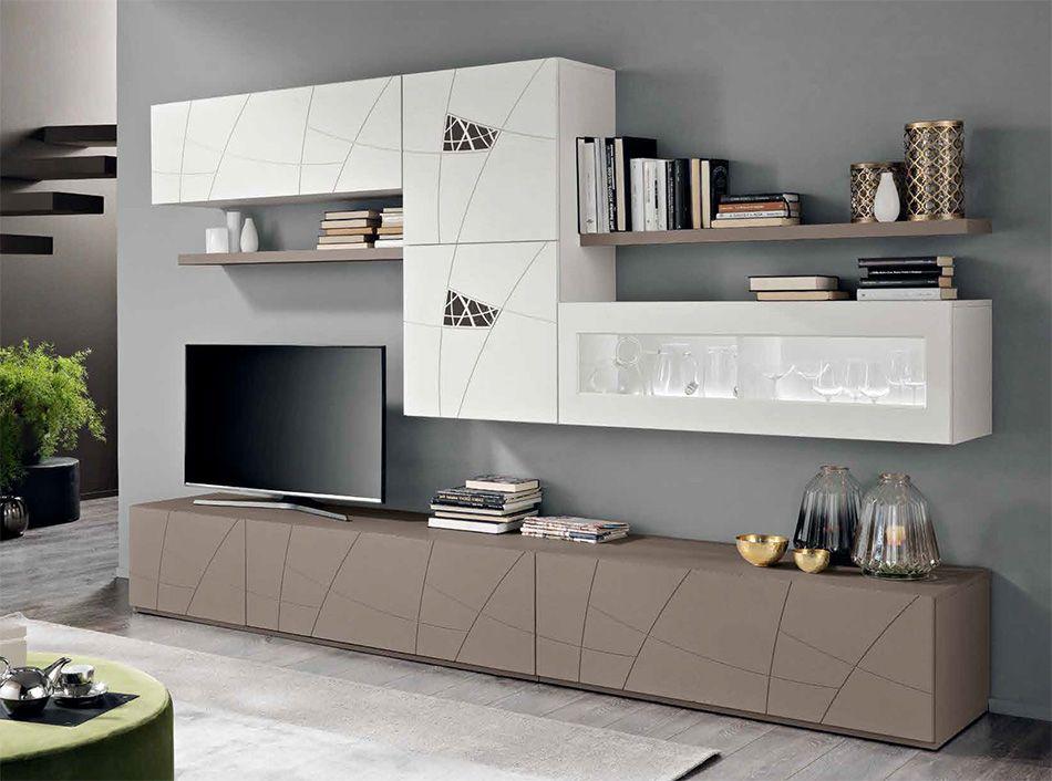 Spar Lapis Modern Italian Wall Unit LX10 - $3,159.00 | Tv Unit in ...