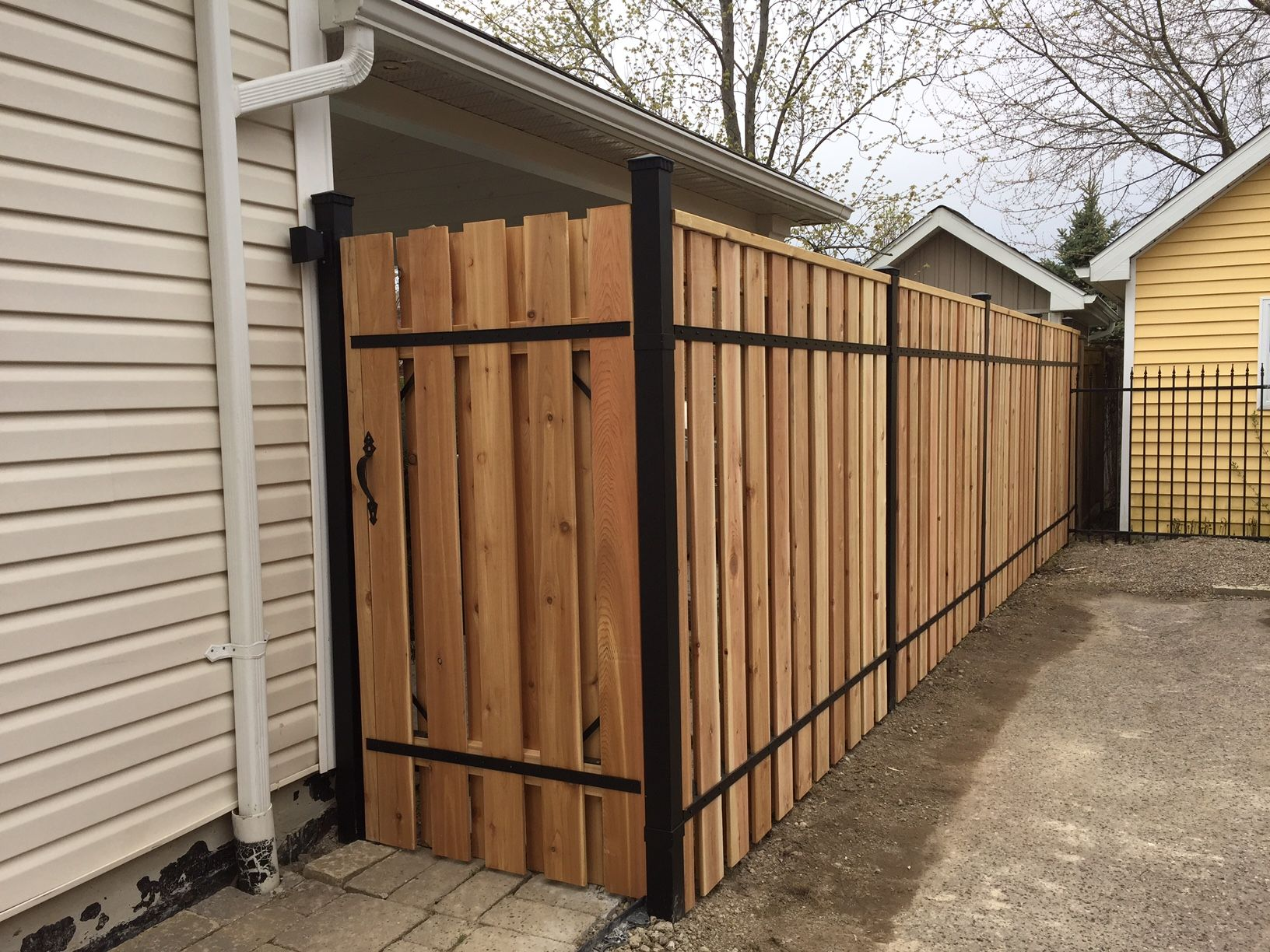 our fences provide ample privacy with the look and feel of a
