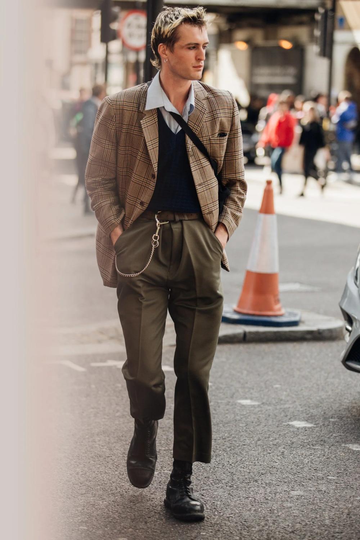 Les meilleurs looks street style de la Fashion Week homme printemps-été 2020 à Londres – Year of the Gentleman