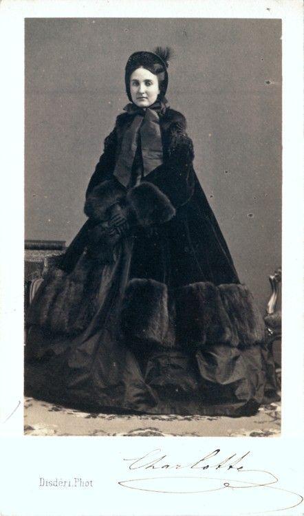 Portrait Of Empress Carlota Of Mexico 1860s Charlotte Of Belgium