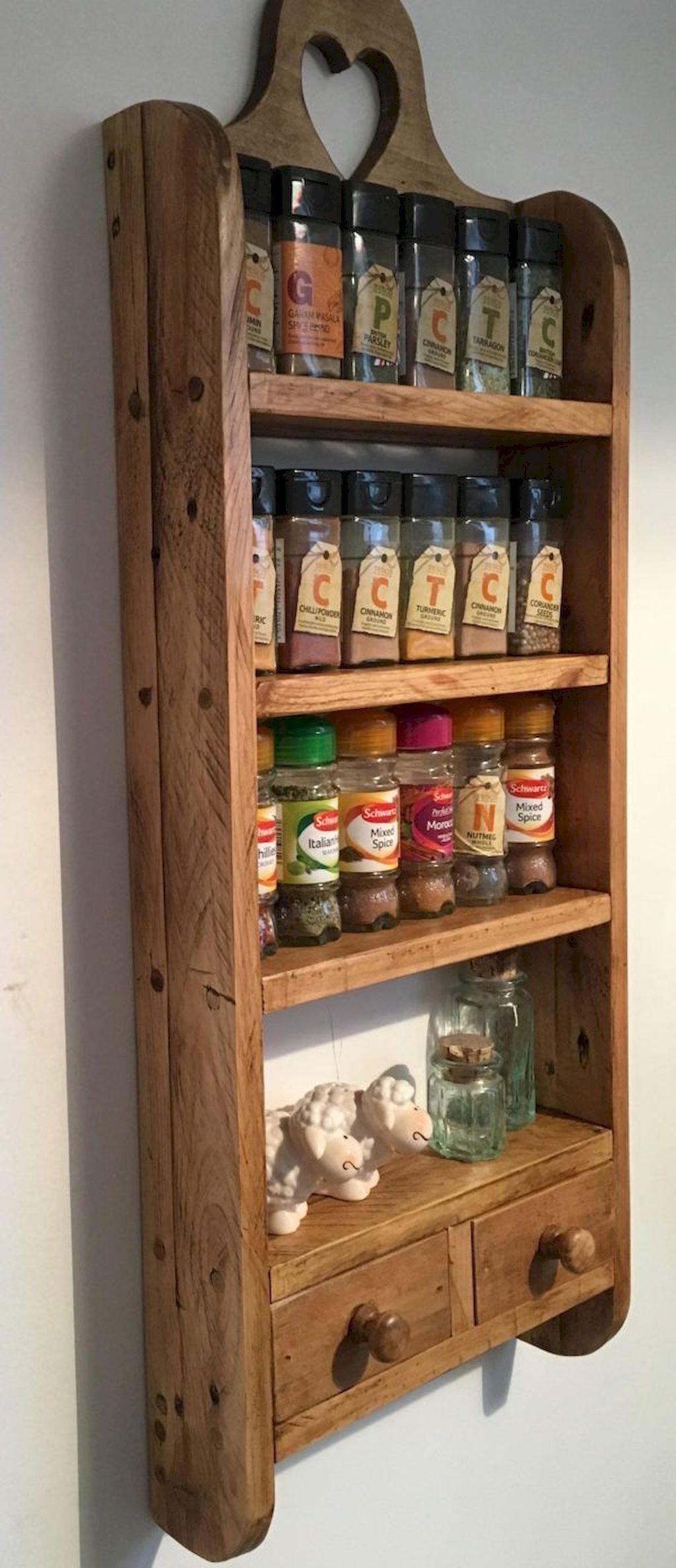 farmhouse spice rack ideas