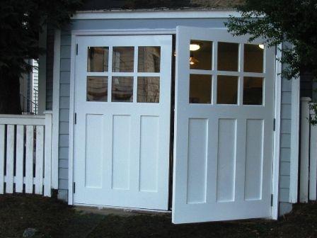 Swing Open Garage Doors Swinging Swing Out Or Swingout Real