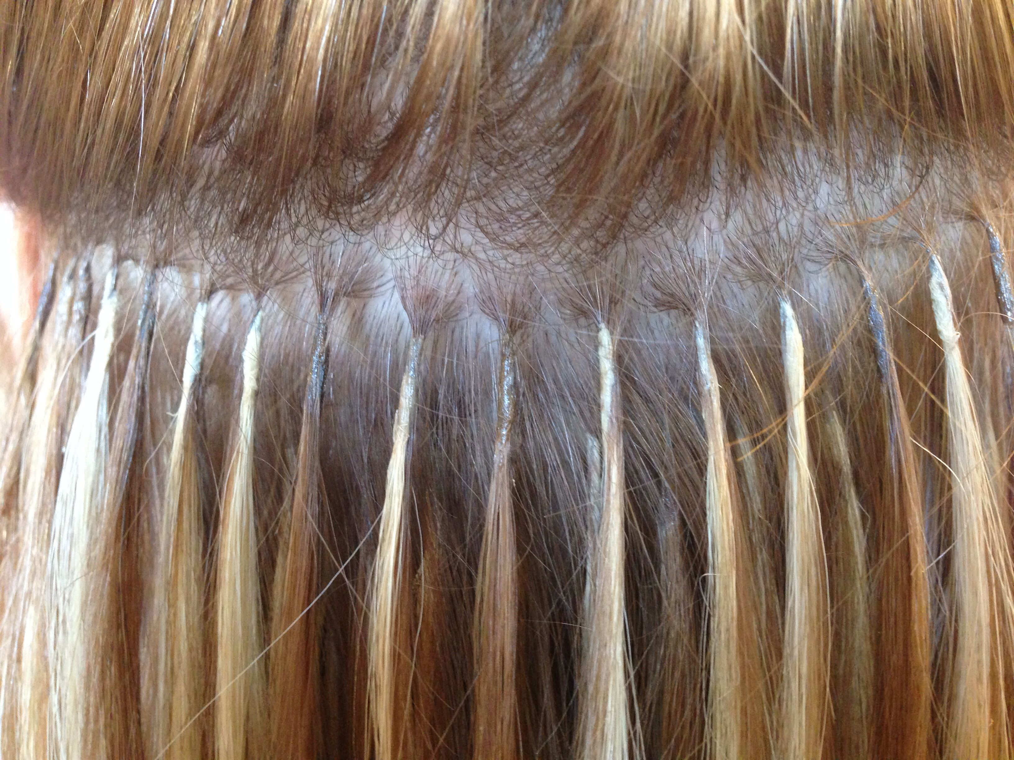 Great Lengths Hair Extension Bonds What They Should Look Like