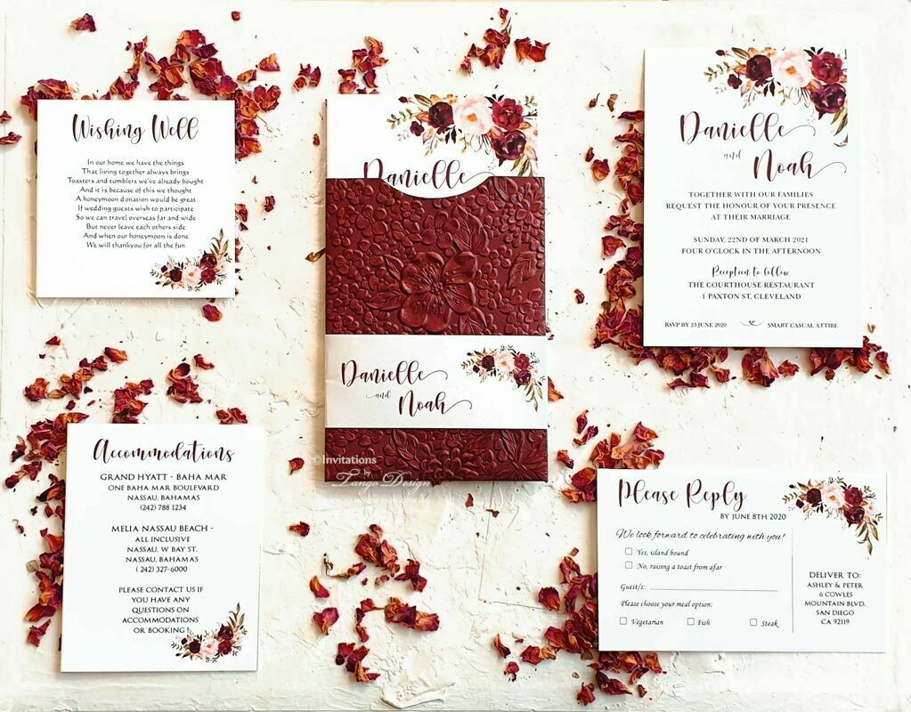 Wedding Invitations Online Australia In 2020 Burgundy Wedding Invitations Wedding Invitations Online Wedding Invitations