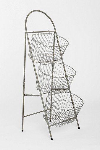 Three Tier Basket Storage - Urban Outfitters