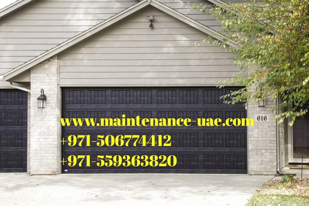 Garage Door Fixing And Repair Maintenance Uae Modern Openers