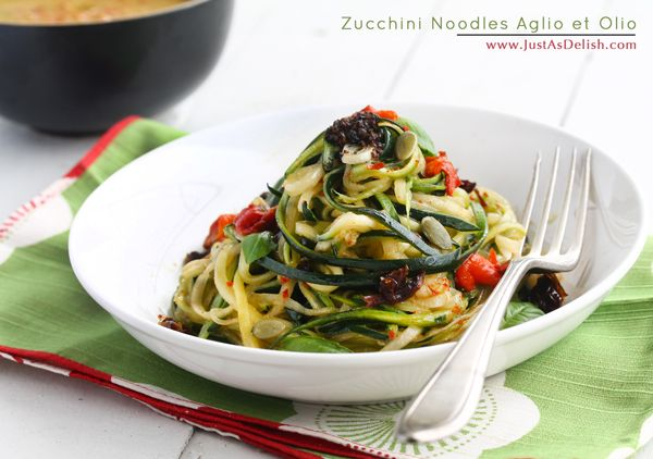 how to cook spiral zucchini noodles