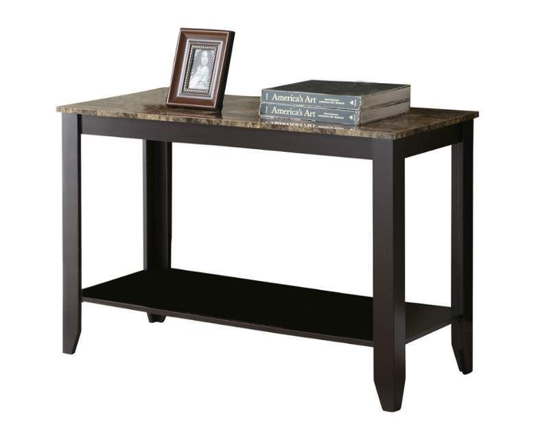 Monarch Specialties Side Table Xii 29 Inch Tall Rectangular