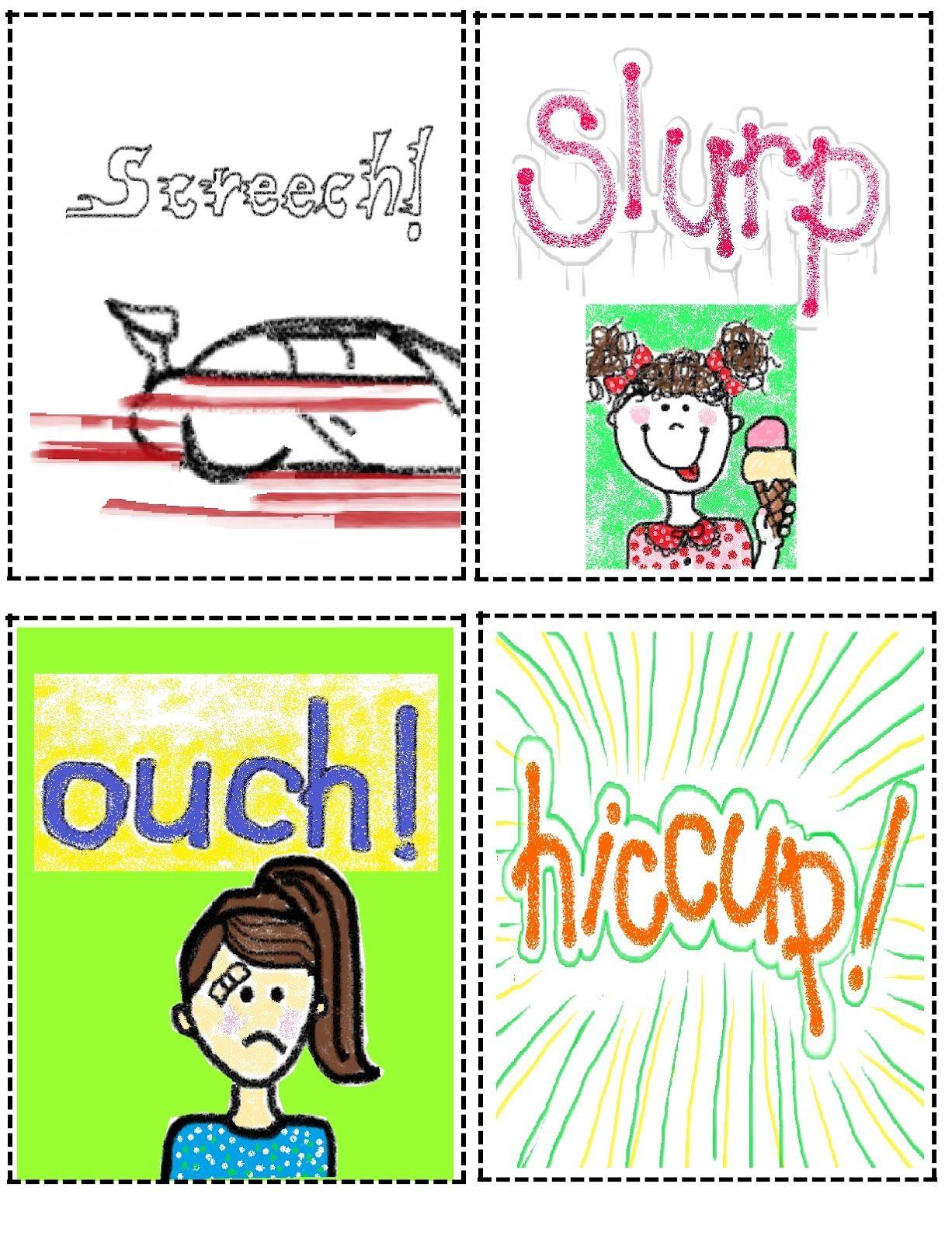 onomatopoeia | Classroom Fun - Writing | Pinterest ...