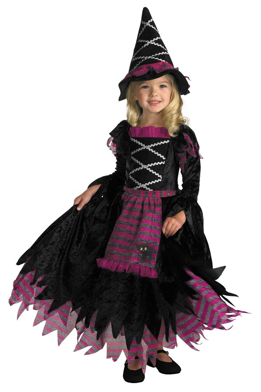 Girls Fairytale Toddler Witch Costume Toddler Witch Costumes - Mr ...