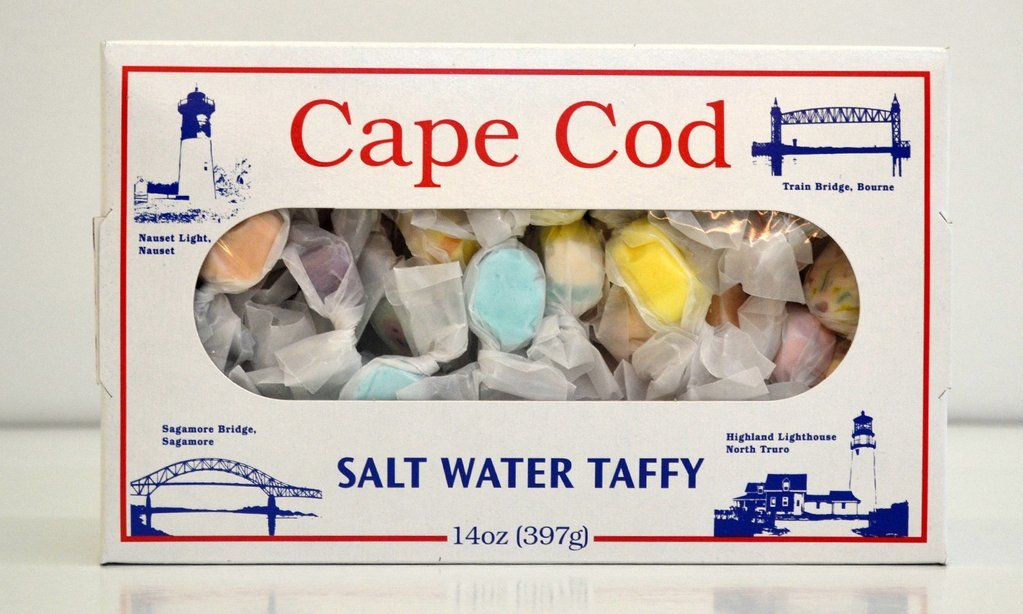 Cape Cod Salt Water Taffy Assorted Flavors Salt Water Taffy Taffy Cape Cod