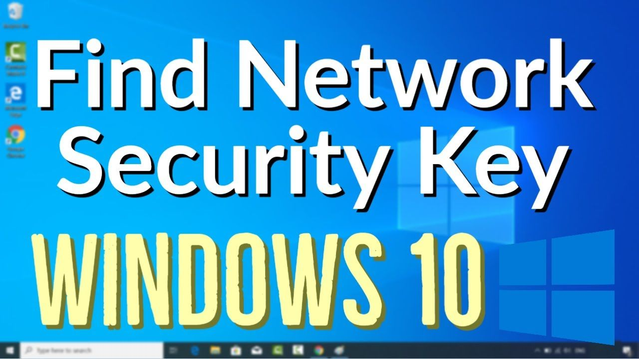 How To Find Your Wireless Network Security Key Password On Windows 10 2 In 2020 Wireless Networking Network Security Networking