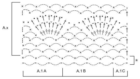 """Afternoon Walk - Estola DROPS en ganchillo con patrón de abanicos y arcos de cadenas, en """"Delight"""". - Free pattern by DROPS Design"""
