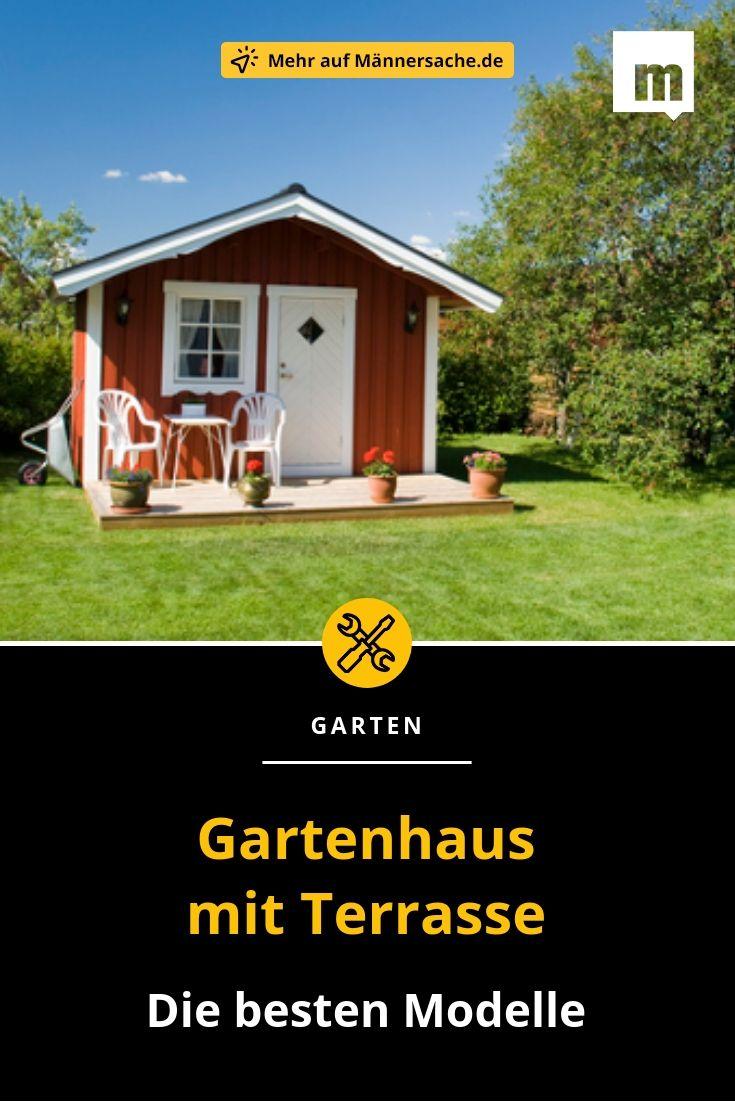 Gartenhaus mit Terrasse Gartenhaus mit terrasse
