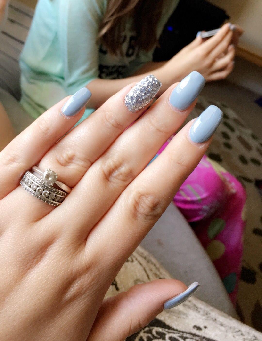 Sally Hansen In Full Blue-m | ***Nail Designs*** | Pinterest | Sally ...