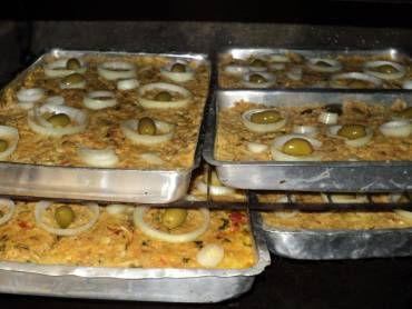 Torta de bacalhau com palmito (capixaba)