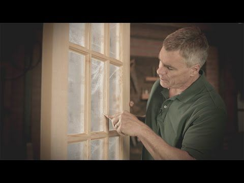 How To Remove Glazing Compound From Sidelight Glass Window Glazing Wood Exterior Door How To Remove
