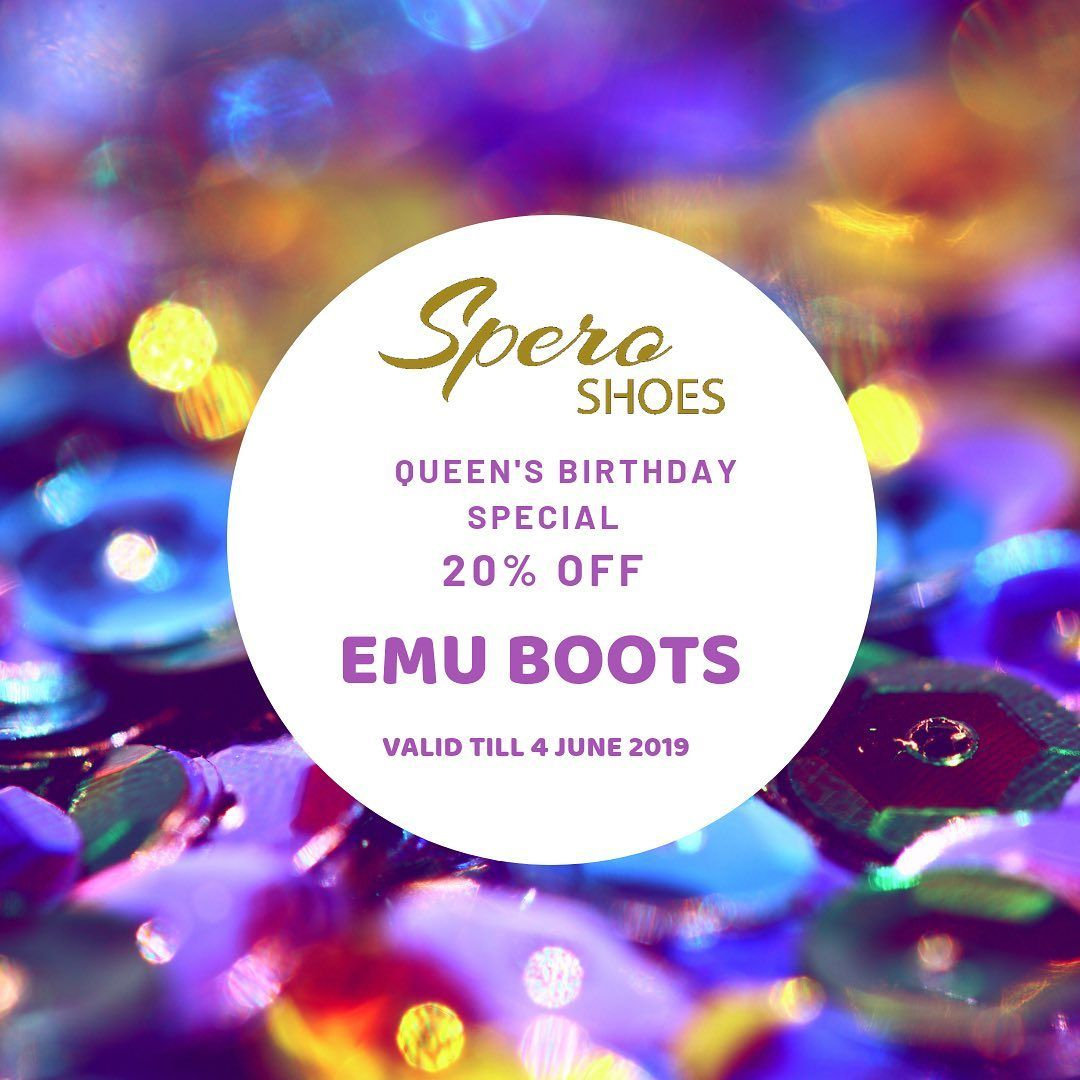 Happy Queens Birthday to celebrate we are offering 20 off