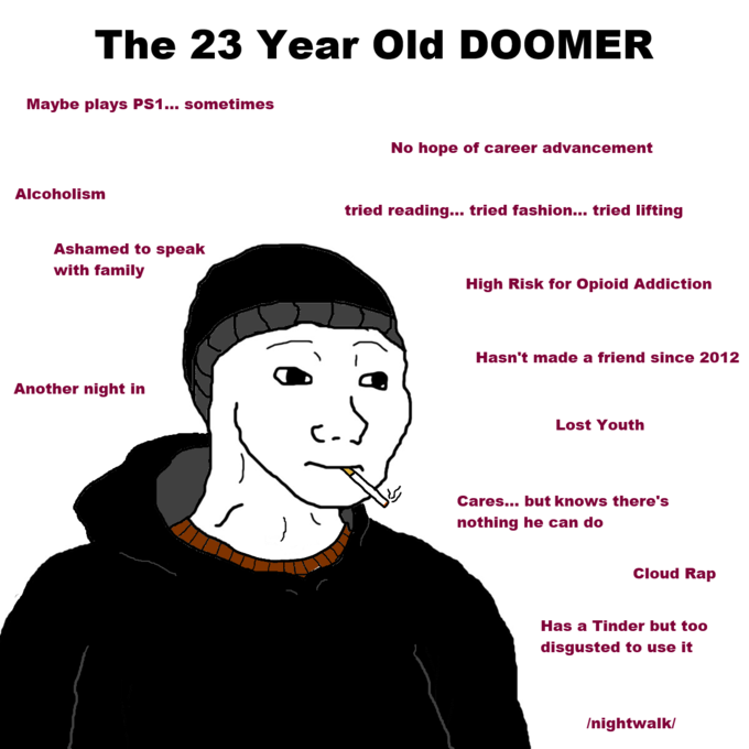 Doomer Memes Career Advancement Book Of Job