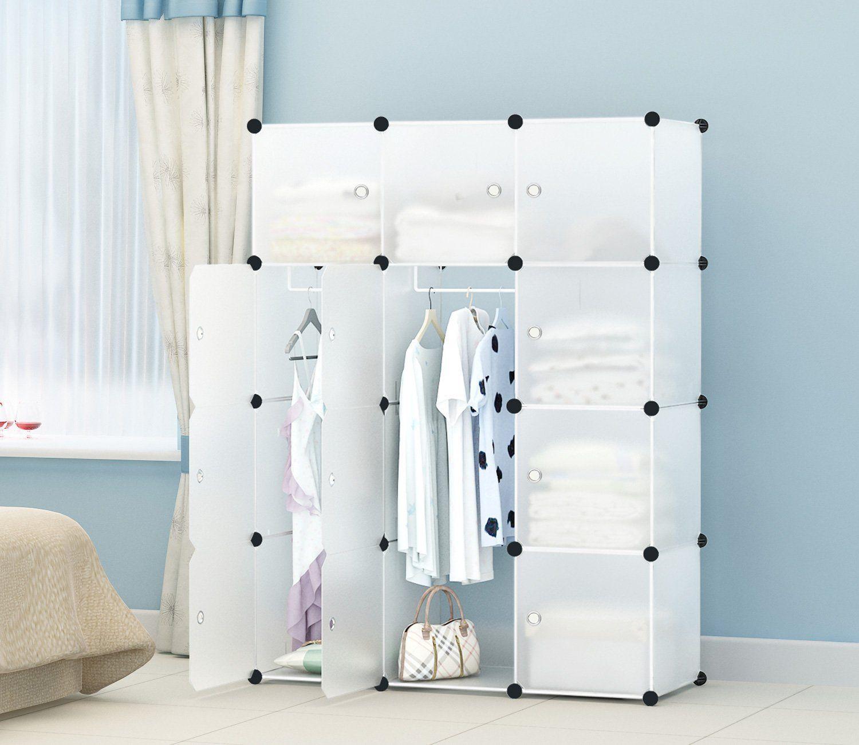 diy wardrobe closet for cheap