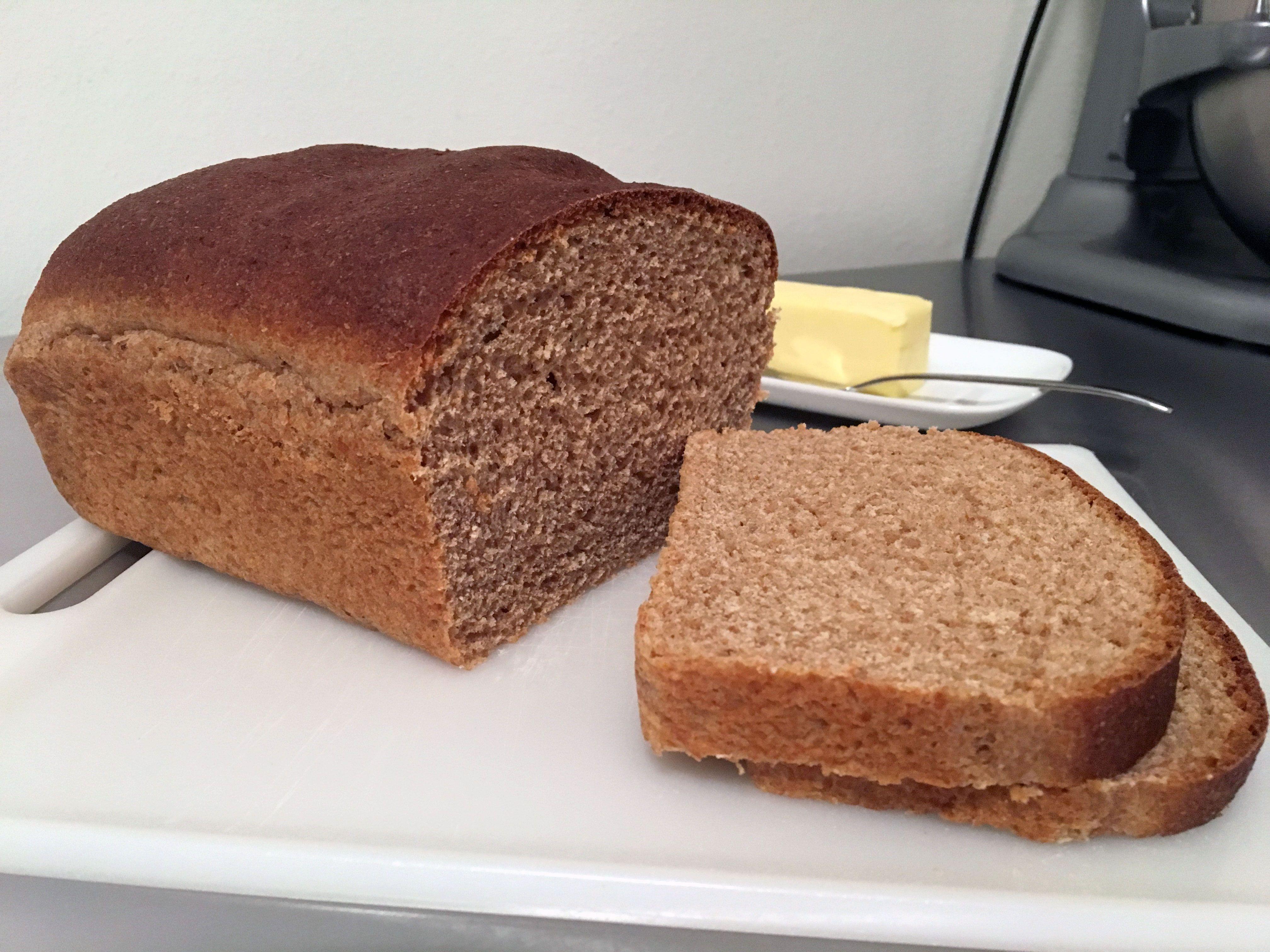 Amazing Spelt Bread HomemadeI ate OC #recipes #food ...