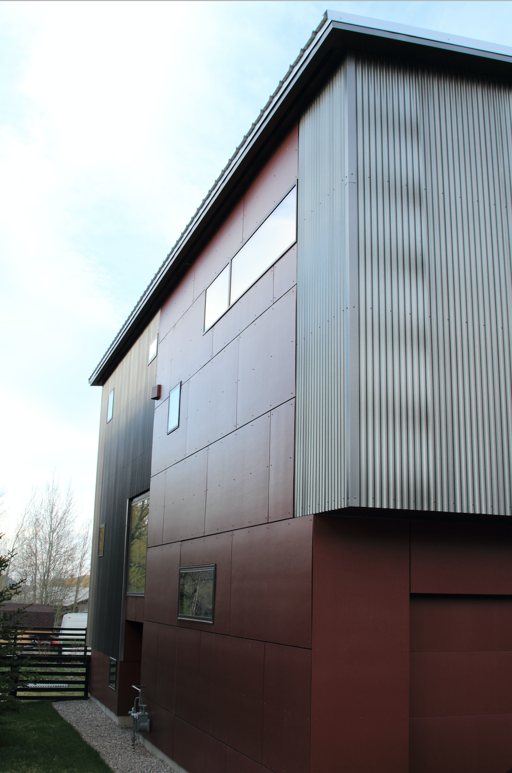 Modern Steel Siding Modern Architectural Design Commercial Architecture Teton Steel Inc Idaho Steel Roofing Steel Siding Metal Roof