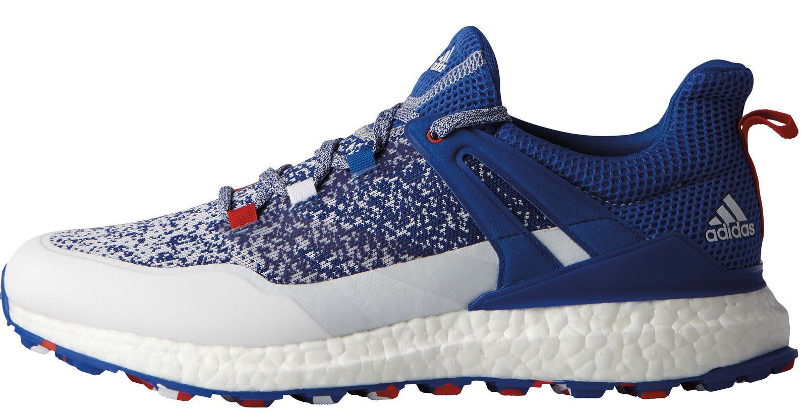 Adidas crossknit db1419 impulso scarpe da golf db1419 crossknit blu / bianco / rosso usa limited f277e8