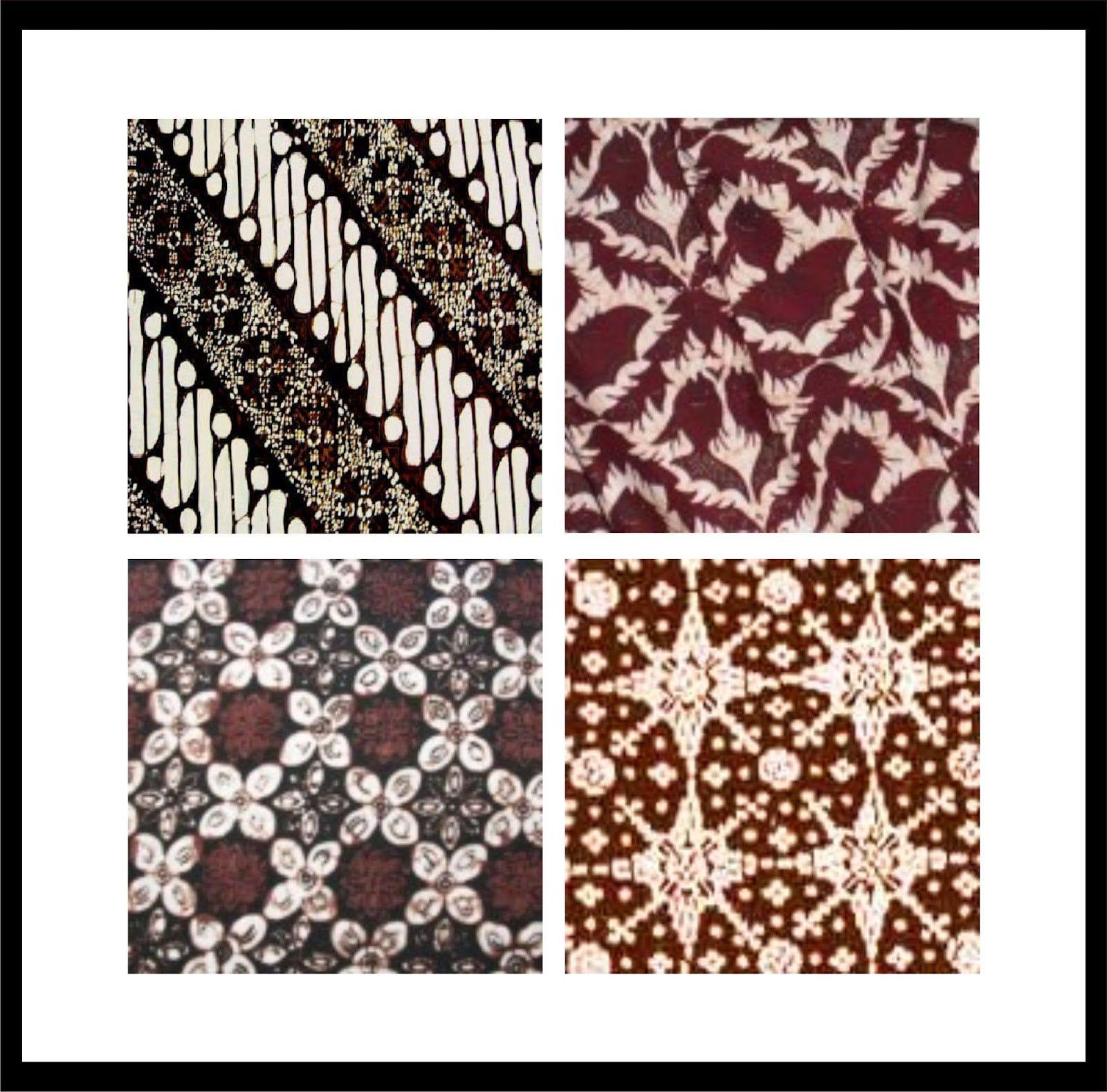 Gambar Motif Batik Modern Simple - Batik Indonesia