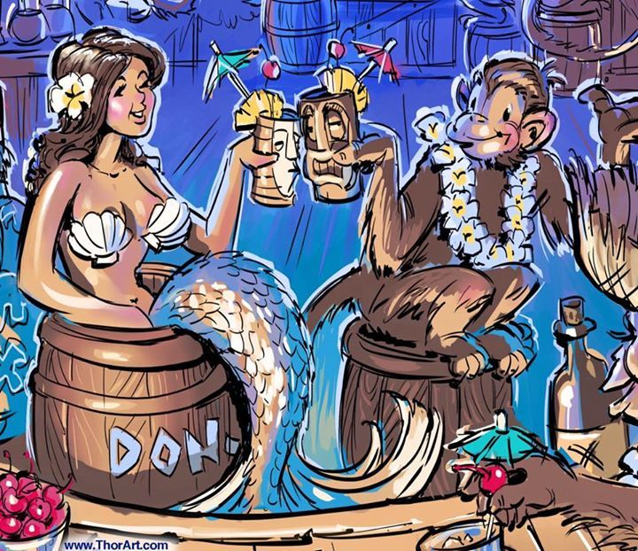 Love of The Hunt: International Tiki Marketplace at Don the ...