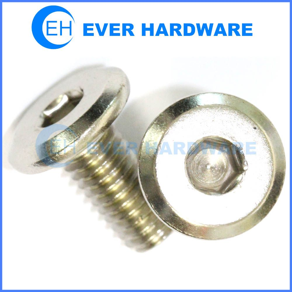 Furniture Screw Stainless Steel Hex Drive Flathead Connector Bolt  Manufacturer