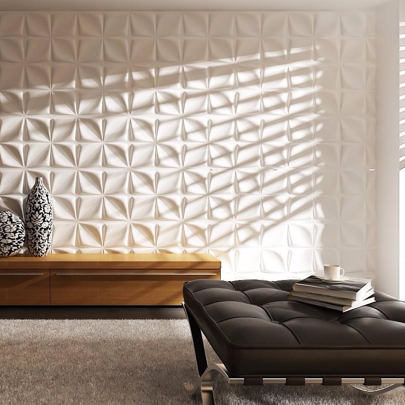 3d Effect Interior Hand Painted Decorative Ceramic Tiles
