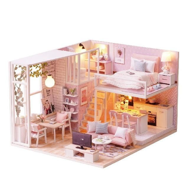 DIY Doll House 2.0 #dollhouses