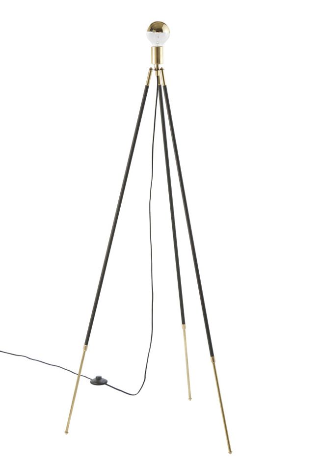 Cliff tripod lamp from the new lambert fils mobilia for Mobilia network