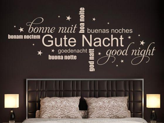 Schlafzimmer Wandtattoo ~ Best kreative wanddeko mit wandtattoo worten images