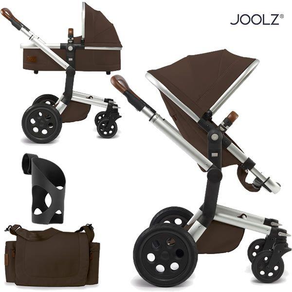 Joolz Day Earth Edition Kinderwagen Set mit Babywanne, Wickeltasche und Becherhalter   online kaufen bei kids-comfort.de #joolz #day #kinderwagen #stroller #pram #babywanne #carrycot #positivedesign #kidscomfort