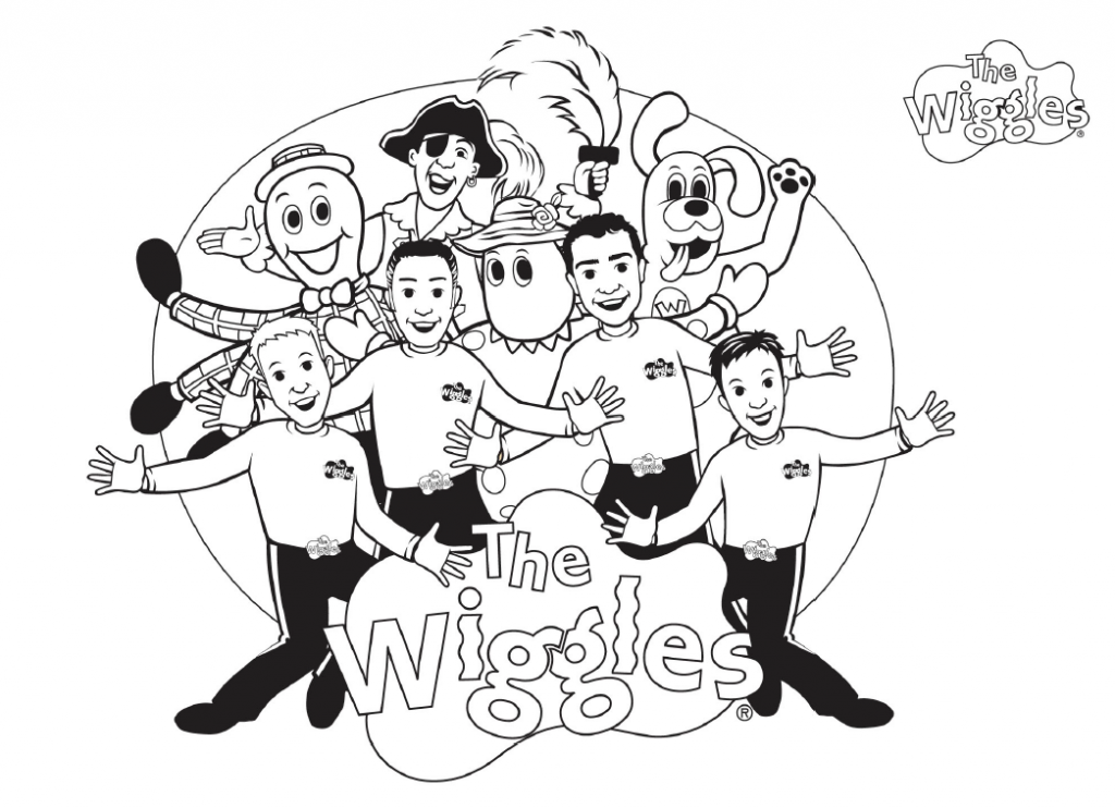 Color The Wiggles Cartoon Coloring Pages Cute Coloring Pages Free Coloring Pages
