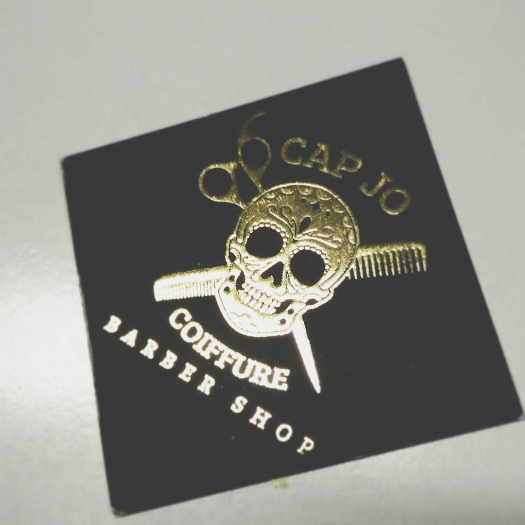 Barbershop business cards @capjocoiffure_belgium_liege #business ...