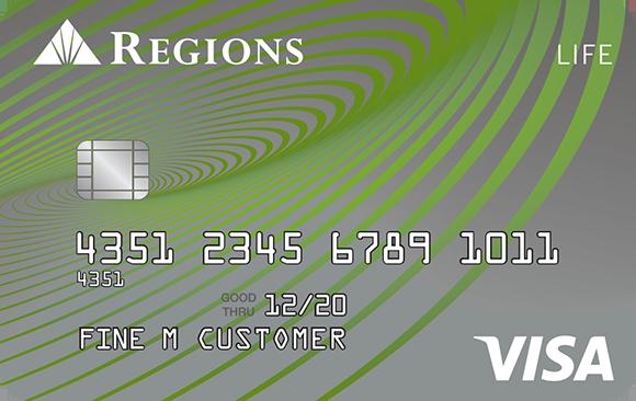Regions Life Credit Card Rewards credit cards, Credit