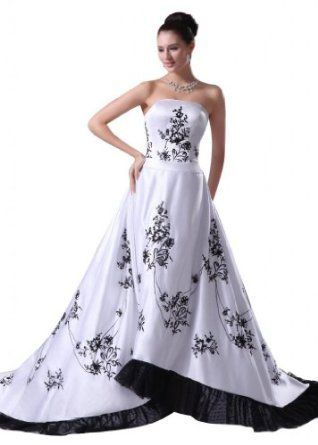 Hochzeitskleid Schwarz Weiss Google Suche Hochzeit