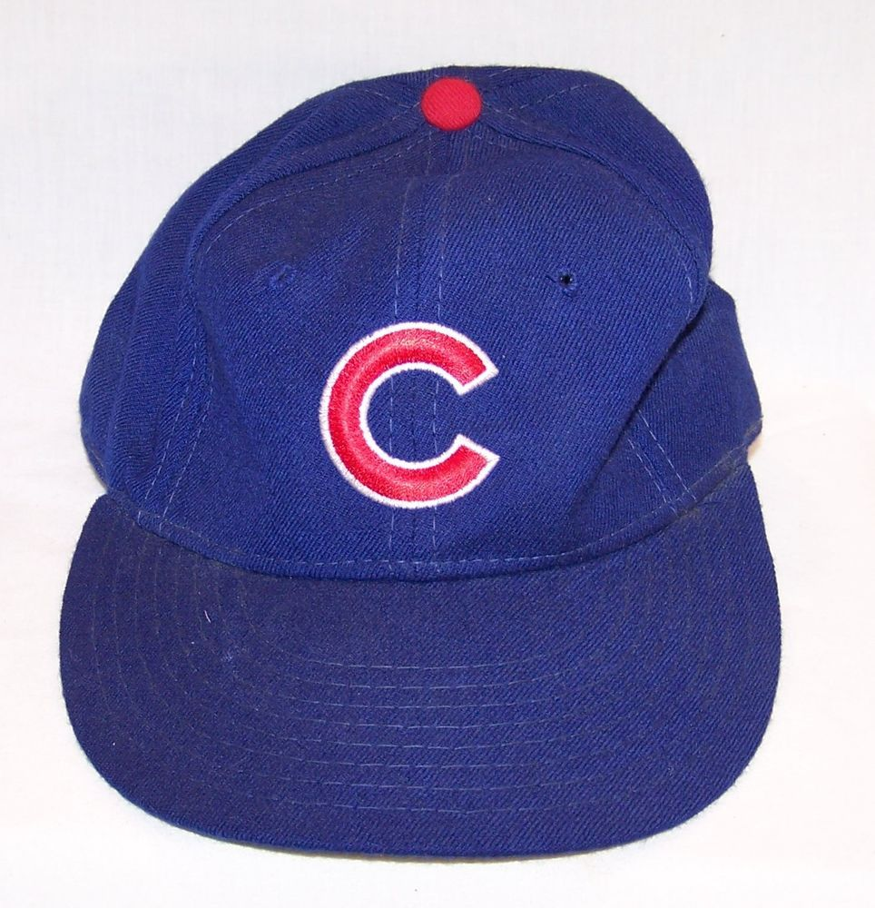 86c25035b8b ... vintage new era youth fitted baseball cap chicago cubs mlb cubbies hat