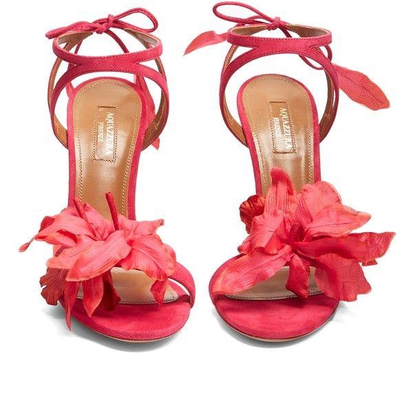 Aquazzura flora suede sandals 4265 cny liked on polyvore aquazzura flora suede sandals 4265 cny liked on polyvore featuring shoes sandals floral sandalspink mightylinksfo Gallery