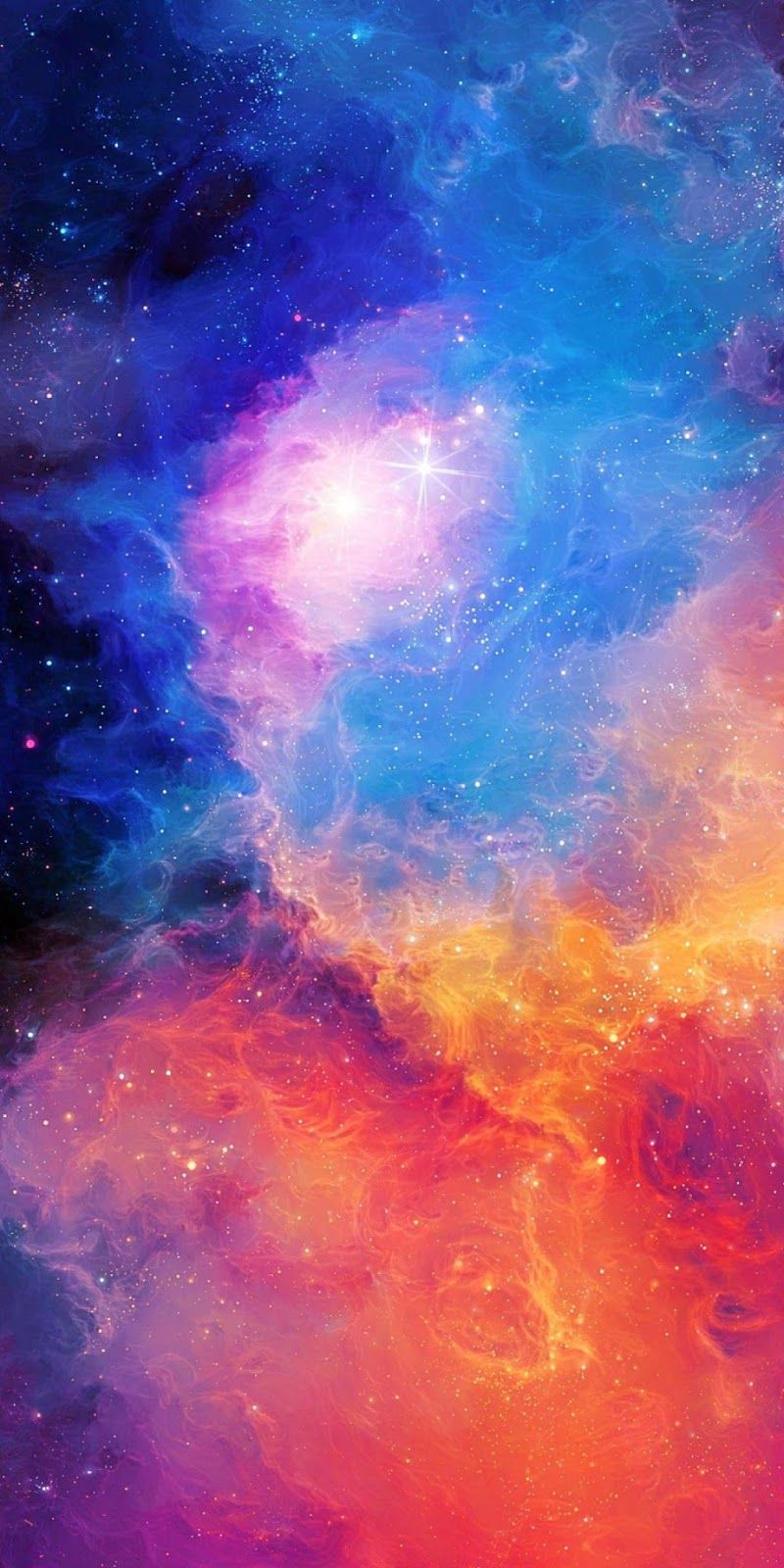 Colorful space Samsung wallpaper, Galaxy wallpaper