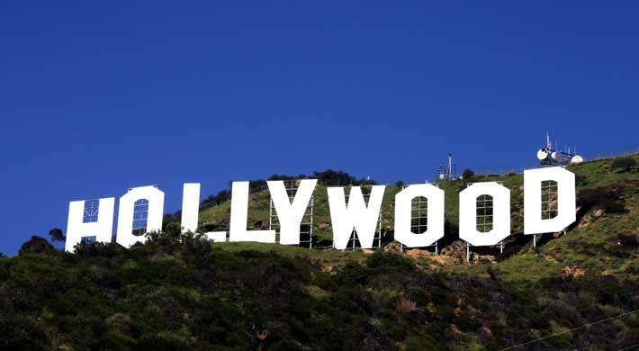 La foto más famosa de Los Angeles.