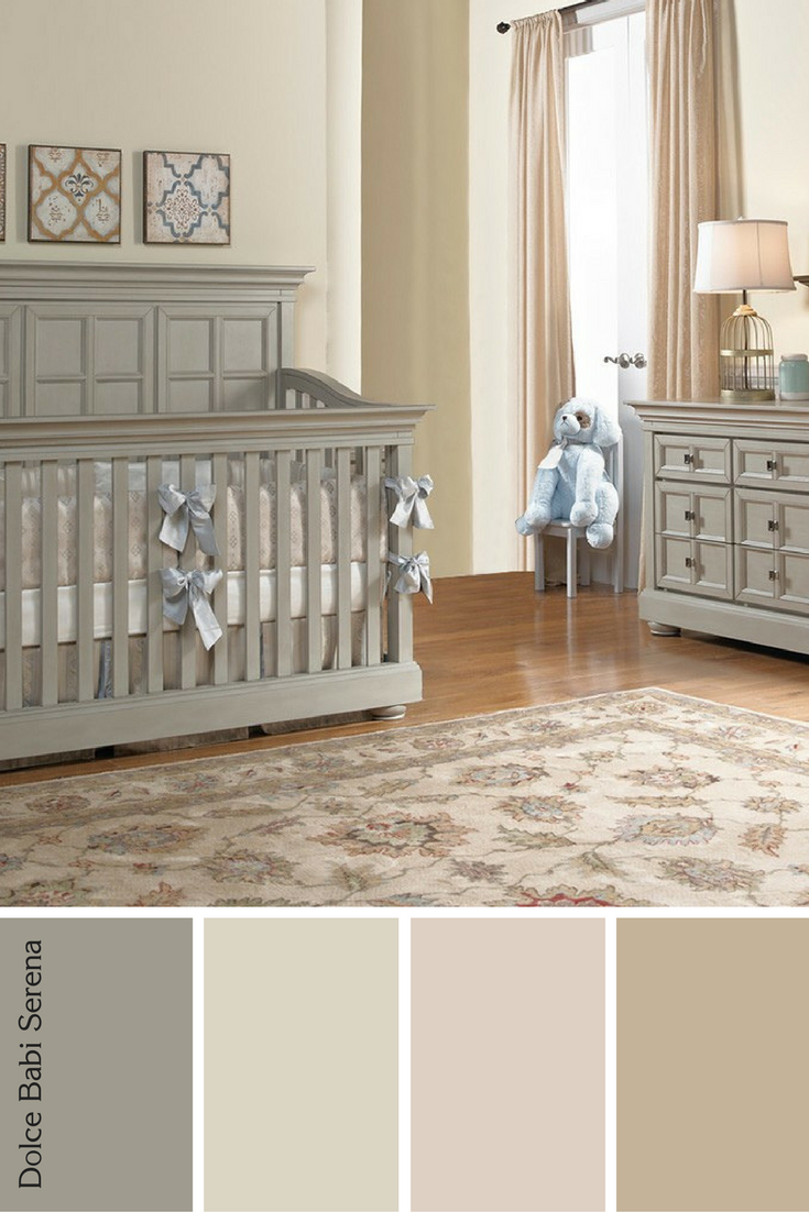 Classic Nursery Designed Using Brown Tan And Warm Tones For Baby
