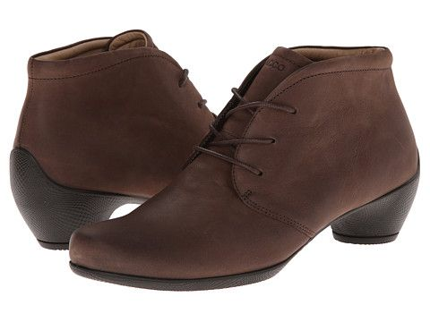 5a41655abf3c6 ECCO Sculptured Bootie Coffee - Zappos.com Free Shipping BOTH Ways Women's  Lace Up Boots
