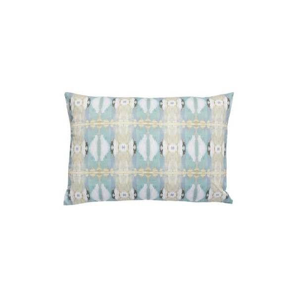 Little Chapel Outdoor Pillow | Blue linen pillows, Outdoor ...