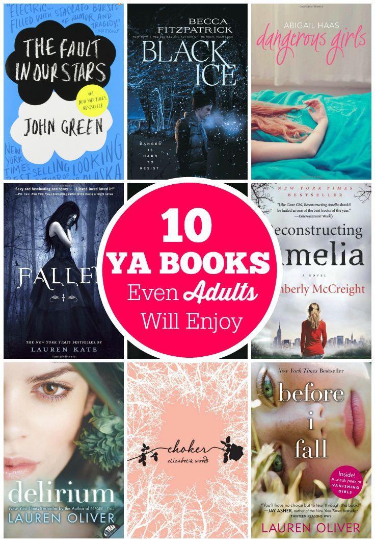 10 YA Books Even Adults Will Enjoy