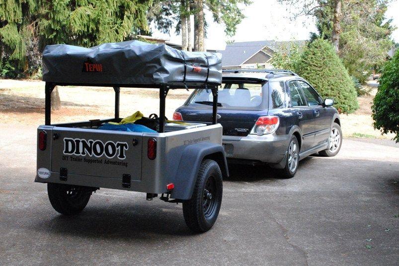 Modular Bolt Together Trailer Racks Dinoot Jeep
